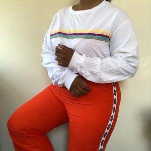 Ashley Stewart track pants